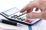 thumbnail Tax calculator and pen